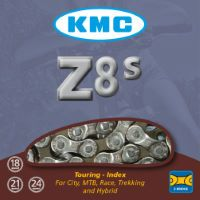 KMC Z8S 8 Speed Chain with 116 Links