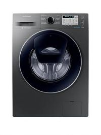 Samsung WW70K5413UX/EU 7kg Load, 1400 Spin AddWash™ Washing Machine with Ecobubble™ Technology and 5-Year Samsung Parts & Labour Warranty - Graphite