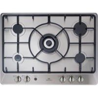 New World NWGHU701 70cm Gas Hob Stainless Steel