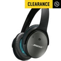 Bose Quiet Comfort 25 Over - Ear Wired Headphones - Black