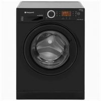 Hotpoint Ultima S-Line RPD10457JKK 10Kg Washing Machine with 1400 rpm - Black - A+++ Rated