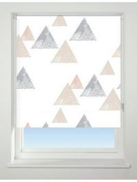 Textured Triangle Blackout Roller Blind