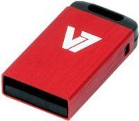 8GB V7 USB 2.0 Nano Flash Drive (Red)