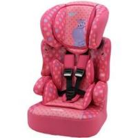 TT Beline SP Plus Hippo Group 1-2-3 High Back Booster Seat