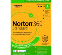 NORTON 360 Standard 2019 - 1 year for 1 device