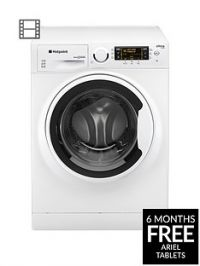 Hotpoint Ultima S-Line RPD10657J 1600 Spin, 10kg Load Washing Machine - White