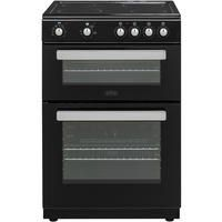 Belling FSE608D 60cm Double Oven Electric Cooker With Ceramic Hob - Black