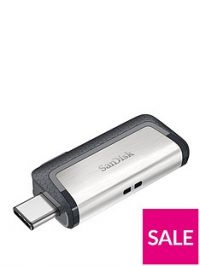 SanDisk SanDisk Ultra® Dual Drive USB Type-CTM, Flash Drive 256GB*