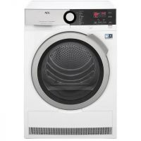 AEG AbsoluteCare Technology T8DEE845R 8Kg Heat Pump Tumble Dryer - White - A++ Rated