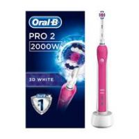 Oral-B PRO2 2000 3D White Electric Toothbrush by Braun