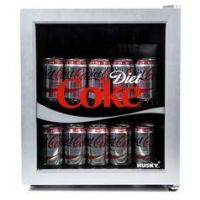 Husky Diet Coke 46 Litre Drinks Cooler - Silver