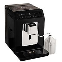 Krups Black 'Evidence' automatic espresso bean to cup coffee machine - EA893840