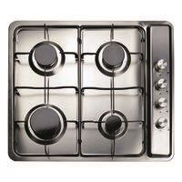 CDA MHG101SS Matrix 60cm Four Zone Gas hob in Stainless Steel