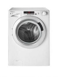 Candy GVSW496DC9kgWash,6kgDry, 1400 Spin Washer Dryer with Smart Touch - White