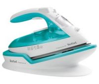 TEFAL Freemove Air FV6520G0 Cordless Steam Iron - Blue & White