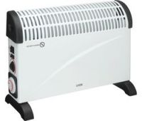 LOGIK L20CHTW18 Portable Hot & Cool Convector Heater - White & Black