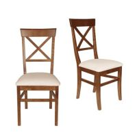 Balmoral Cherry Pair Of Dining Chairs