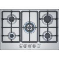 Siemens EG7B5QB90 iQ300 75cm Gas Hob With Cast Iron Pan Stands - Stainless Steel