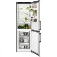 AEG RCB53325VX 60/40 Frost Free Fridge Freezer - Stainless Steel - A++ Rated