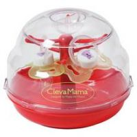 Clevamama Microwave Soother Steriliser + 2 Soother