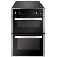 CDA CFC630SS 60cm Double Oven Electric Cooker With Ceramic Hob - Stainless Steel