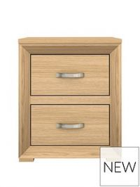 Mariza 2 Drawer Bedside Chest