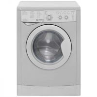 Indesit Eco Time IWDC6125S 6Kg / 5Kg Washer Dryer with 1200 rpm - Silver - B Rated