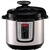 Tefal All in One CY505E40 6 Litre Pressure Cooker - Black