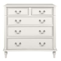 Clifton Dove Grey 5 Drawer Chest