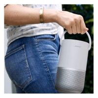 Bose PORT HOME SI Portable Home Speaker in Silver with Alexa Built In