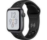 APPLE Watch Nike+ Series 4 - Space Grey & Black Sports Band, 40 mm