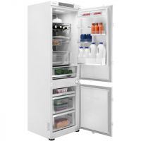 Samsung BRB260087WW Integrated 70/30 Frost Free Fridge Freezer with Sliding Door Fixing Kit - White - A++ Rated