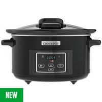 Crock-Pot 4.7L Slow Cooker - Black