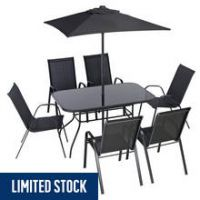 Argos Home Sicily 6 Seater Metal Patio Set