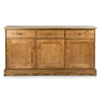 Garrat Honey Triple Sideboard