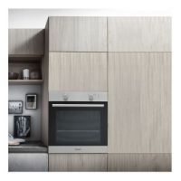 Hotpoint GA2124IX 60cm Built In Gas Oven in St Steel 75 Litre A Rated