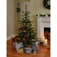 Argos Home 5ft Natural Pre-Lit Christmas Tree - Green