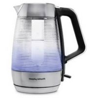Morphy Richards 108010 Vetro Illuminated Kettle - Glass
