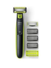 Philips Philips Oneblade Face + Body Hybrid Trimmer And Shaver (1 Blade For Face, 1 For Body, 3 Combs, 1 Skin Guard) - Qp2620/25