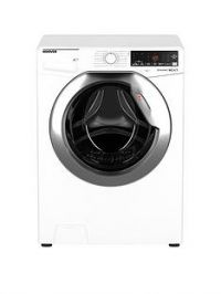 Hoover DWOA411AHC8/1-80 11kgLoad, 1400 Spin Washing Machine - White/Chrome Door