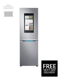 Samsung RB38M7998S4/EU Family Hub Fridge Freezer - Stainless Steel, 5 Year Samsung Parts and Labour Warranty