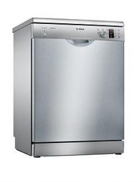 Bosch Serie 2 SMS25AI00G 12-Place Full Size Dishwasher with ActiveWater™ Technology - Silver