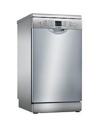 Bosch Serie 4 SPS46II00G9-Place Settings Slimline Dishwasher with ActiveWater™Technology - Silver Inox