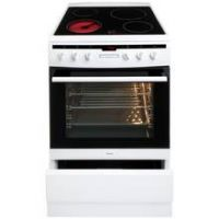Amica 608CE2TAW 60cm Single Oven Electric Cooker - White
