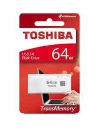 Toshiba 64GB USB 3.0 Flash Drive - White