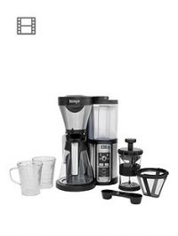 NINJA Coffee Bar Auto-iQ Brewer with Glass Carafe CF060UK