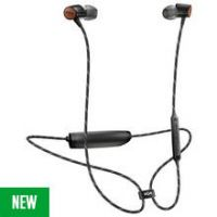 House of Marley Uplift 2 Wireless In-Ear Headphones - Black
