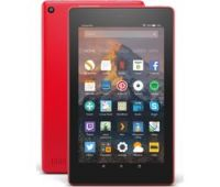 AMAZON Fire 7 Tablet with Alexa (2017) - 16 GB, Punch Red