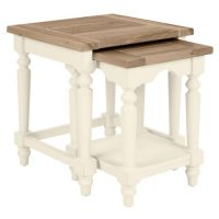 Dorset White Nest Of 2 Tables