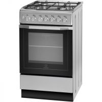 Indesit Cloe IS5G4PHX Dual Fuel Cooker - Stainless Steel - A Rated